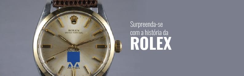Surpreenda-se com a história da Rolex