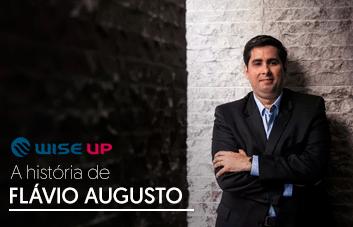 Conheça a história de Flávio Augusto, fundador da Wise Up
