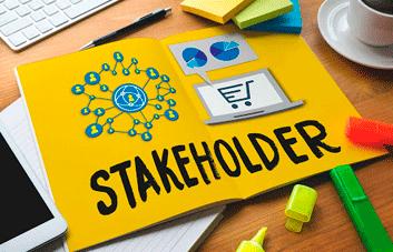 Qual é o papel de um stakeholder em uma empresa?