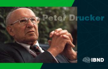Conheça um pouco mais sobre a história de Peter Drucker